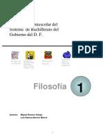 Filosofía - manual mexicano bachillerato