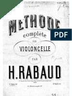 125908132 Rabaud Cello Method