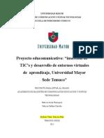 Proyecto Aplicado Magister Patricia Avila g