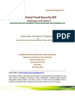 Food Security Bill by Asho Gulati