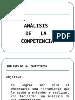 Análisis de La Competencia-Mercadotecnia