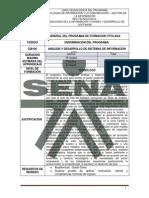 TG Analisis y Desarrollo de Sistemas de Informacion Version 101
