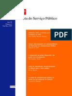 Artigo Bresser 2 Arquivo Revista Do Servico Publico