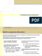 2 Il Sistema Documentario