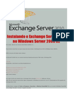 Instalando o Exchange Server 2010 No Windows Server 2008 R2