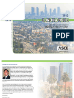 2012 ASCE Los Angeles infrastructure report card