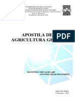 Apostila Agricultura Geral 2012