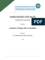 Habilidades Sociales Para Presentar