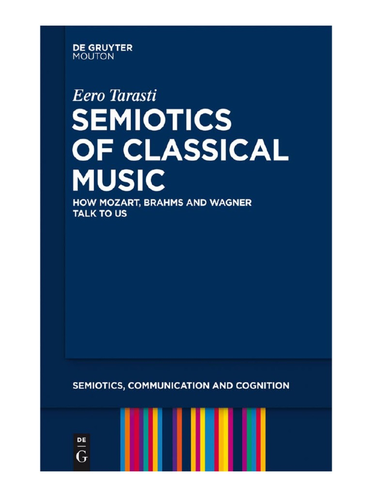 Semiotics Of Classical Music Georg Wilhelm Friedrich Hegel