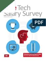 Dice Tech Salary Survey 2014