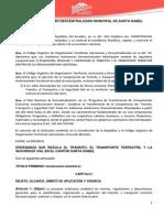 Ordenanza Transito 17-09-12