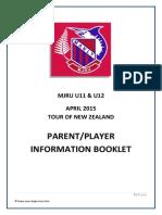 NZ Tour Info Booklet 2015