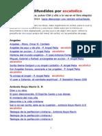 Libros Difundidos Por Escatolico Al 25-6-2014