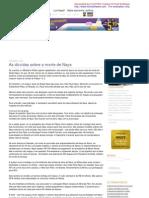 Cópia de Luis Nassif - Sobre economia, política e notícias do Brasil e do Mundo » As dúvidas sobre a morte de Naya