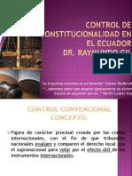 El Control de Convencionalidad en Ecuador]