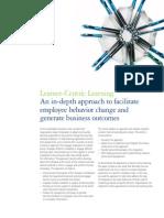 Deloitte - Learner Centric Learning (Employee Behaviour Change)