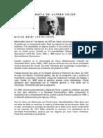 Biografia de Alfred Adler