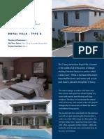 factsheet royalvillas