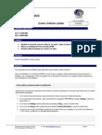 Instrucciones Actualizacion KLV-BX300