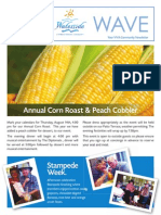 V!VA WATE August 2014 Newsletter