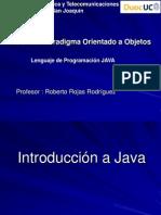 Unidad 2.0 - Lenguaje de Programación JAVA