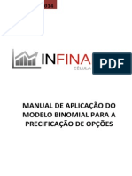 Modelo Binomial Precificação de Opções