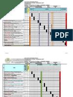 Gantt Microeconomia. 2014-2