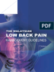 Low Back Pain Guidelines