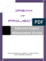 Employee Cubicle Management System