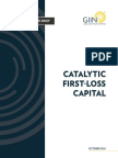 552-1_catalytic First Loss Capital