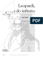 Leopardi, Poeta Do Infinito. Marco Lucchesi