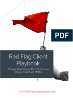 Red Flag Client Playbook