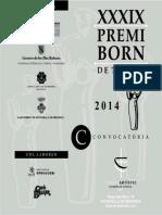 Premi Born Bases 2014