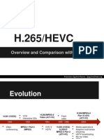 H265 HEVC Overview and Comparison With H264 AVC