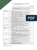 STARD Checklist