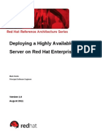 [중요] Deploying a Highly Available Web Server on Red Hat Enterprise Linux 6