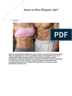 What is the Secret to Hot SIXpack Abs