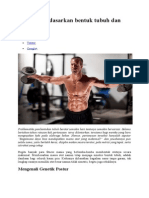 Berlatih Berdasarkan Bentuk Tubuh Dan Tipe Otot