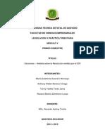 Sanciones - Análisis Sobre La Resolución Emitida Por El SRI
