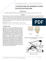 Characterization of Reflectors and Absorber Coatings