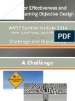 Summer Institute Educator Effectiveness and Student Learning Objective Design 7-30 Final 1