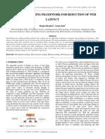 Hybrid Web Caching Framework for Reduction of Web