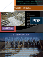 Proyecto Hidraulico Diaposotivas Finales
