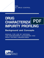 Drug Charc & Impurity Profile