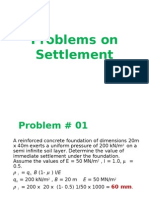 Problems on Settlement