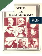 Who is Esau Edom