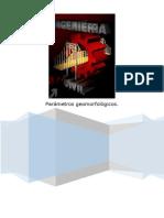 parametros geomorfologicos
