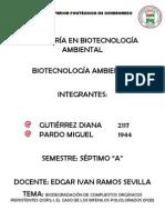 Biodegradación de Compuestos Orgánicos