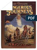 Dangerous Journeys - Rules (GDW5000)