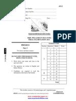 Physics Paper 2 Trial SPM 2013 MRSM e